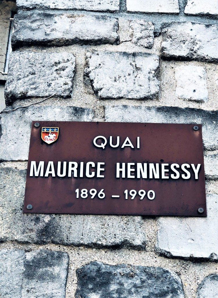 Eileen Callahan of Champagne Travels at Hennessy in Cognac, France