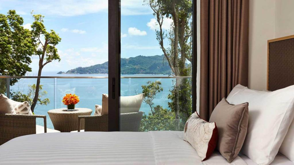 Eileen Callahan of Champagne Travels at Amari Resort in Phuket Thailand