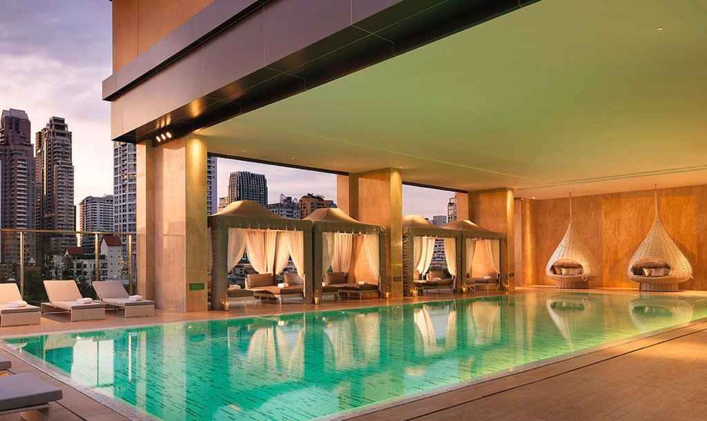 Eileen Callahan Luxury Travel Writer of Champagne Travels at the Oriental Residences in Bangkok Thailand