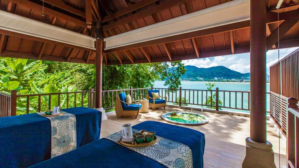 Eileen Callahan of Champagne Travels at Amari Resort in Phuket Thailand