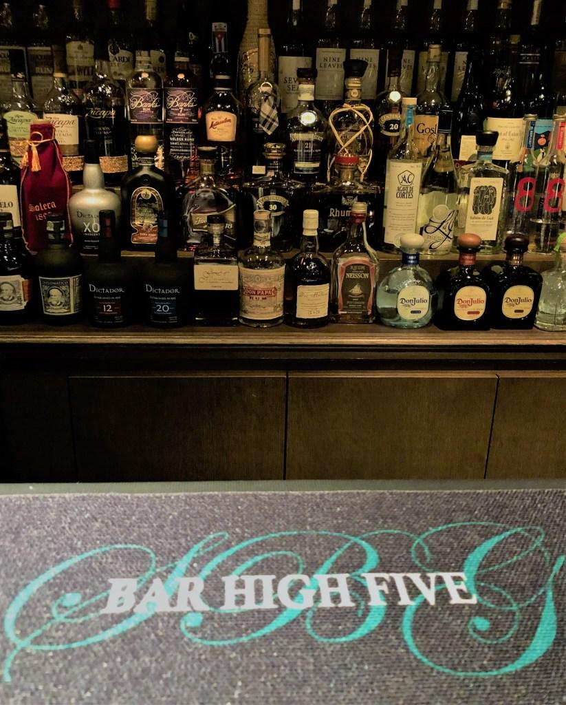 Bar High Five in Tokyo Japan