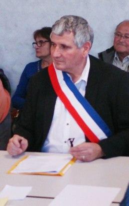 Roland Clochard, nouveau Maire de Champagne