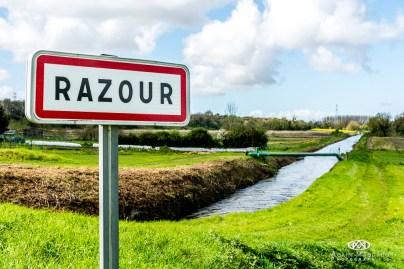 L'entrée de Razour