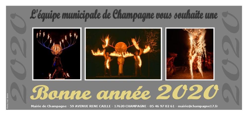 Carte de voeux 2020-Champagne