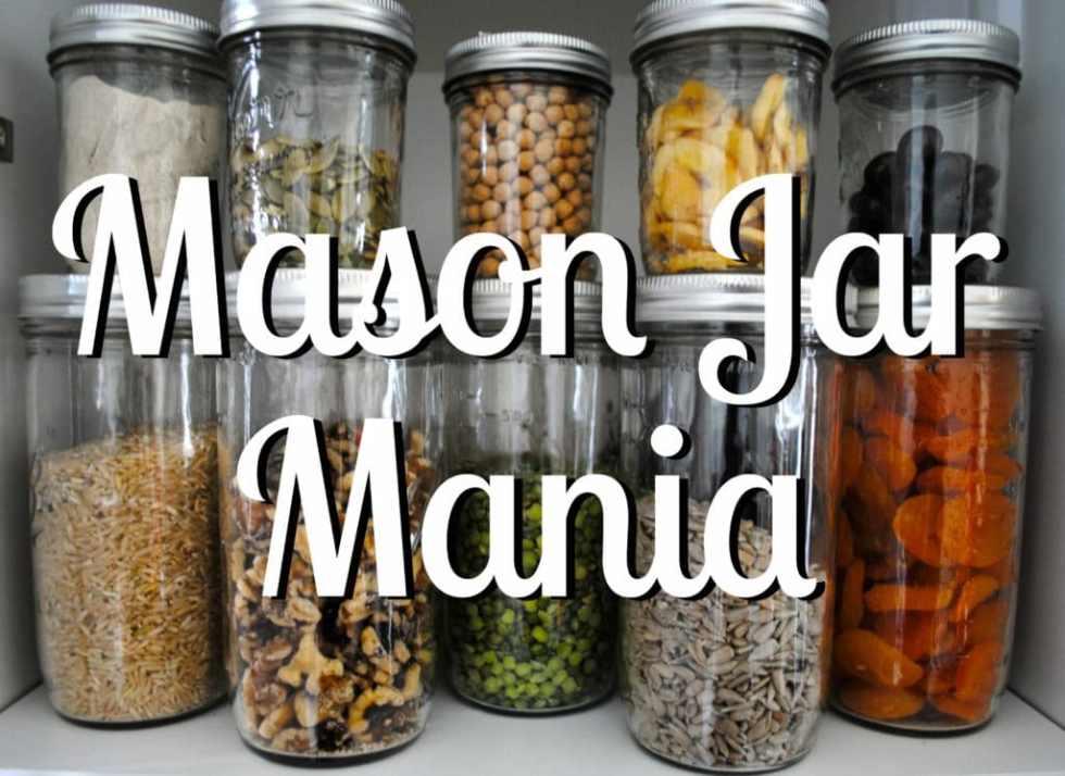 Mason Jar Mania: transforming tend to function