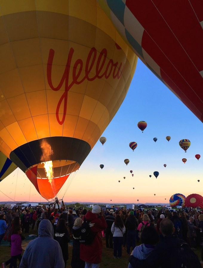 Hot Air Balloon Festival, Albuquerque NM
