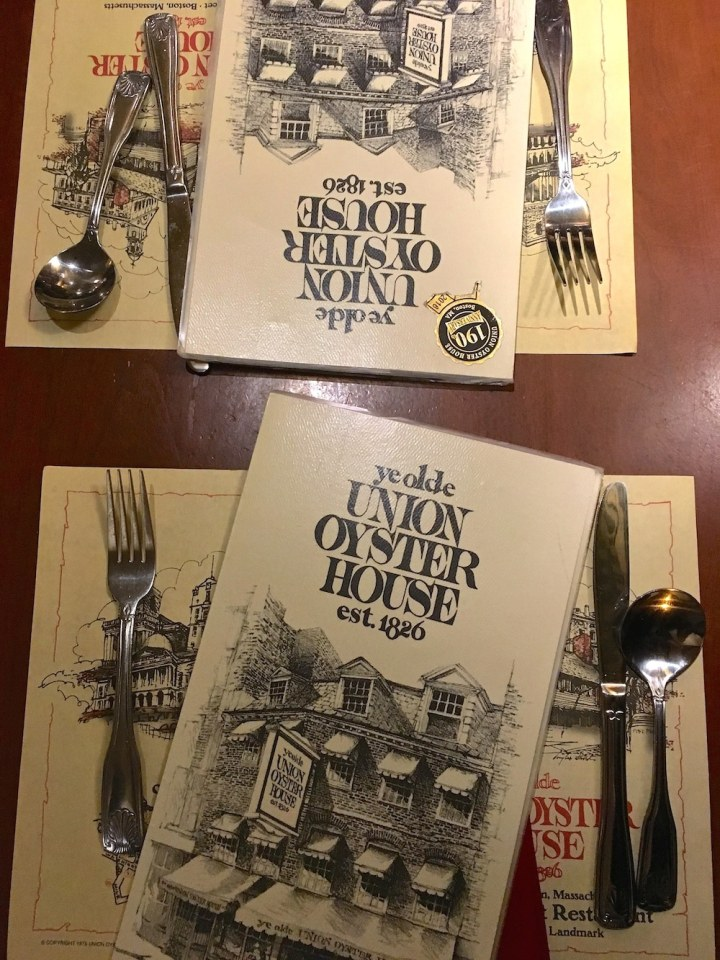 Five Best Bites in Boston - Union Oyster House