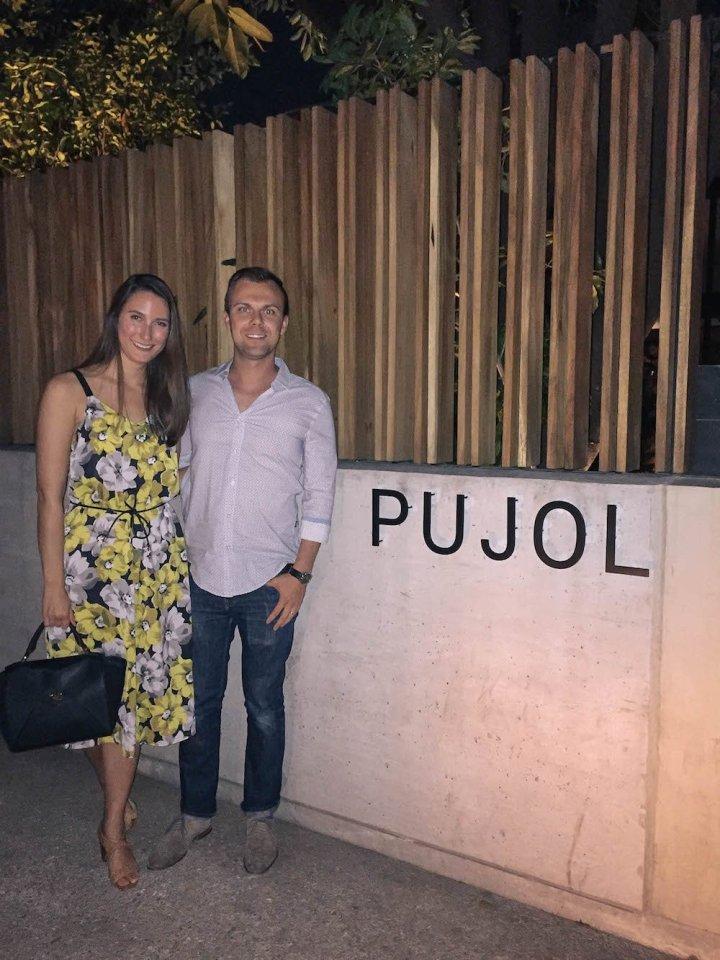Mole at Pujol, Mexico City