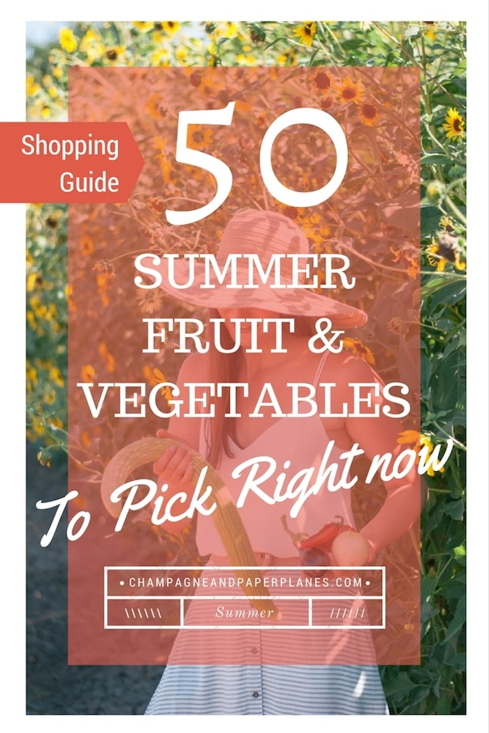 50 Summer Fruits and Vegetables