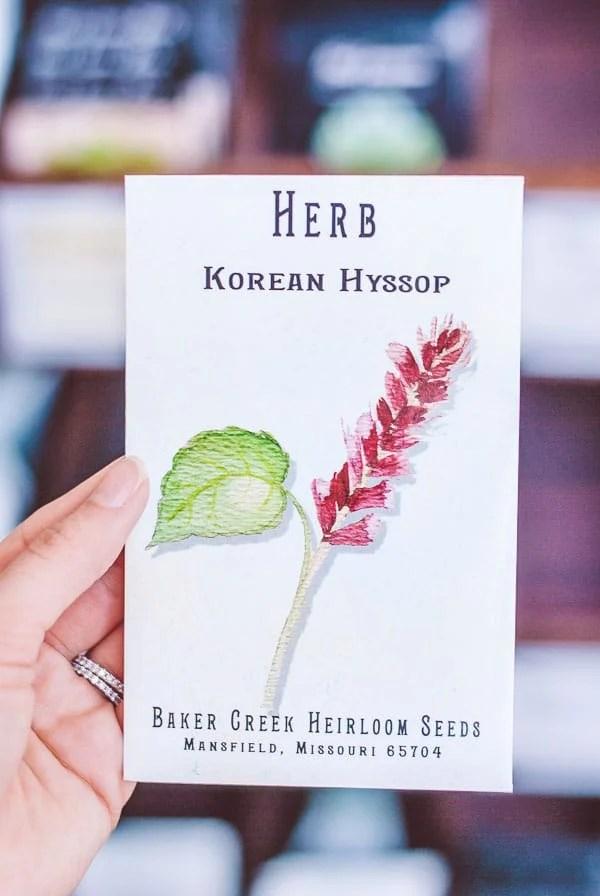 Heirloom Seeds in Petaluma, California
