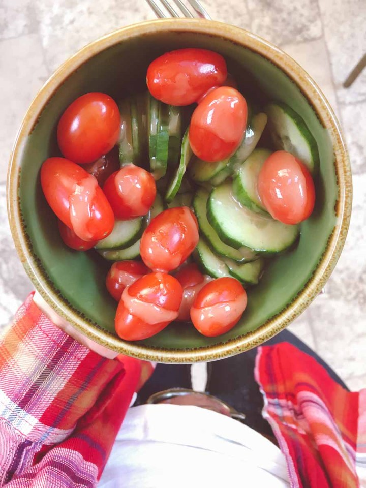 What a dietitian eats in a week - bowl of vegetables