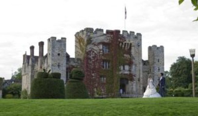 Castle Wedding - Hever Castle