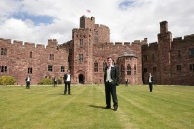 Castle Wedding - Peckforton Castle