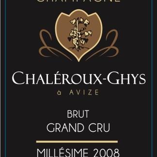 2008 Chaléroux-Ghys Grand Cru