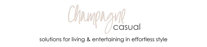 Champagne Casual Blog