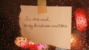 kindness matters, social media