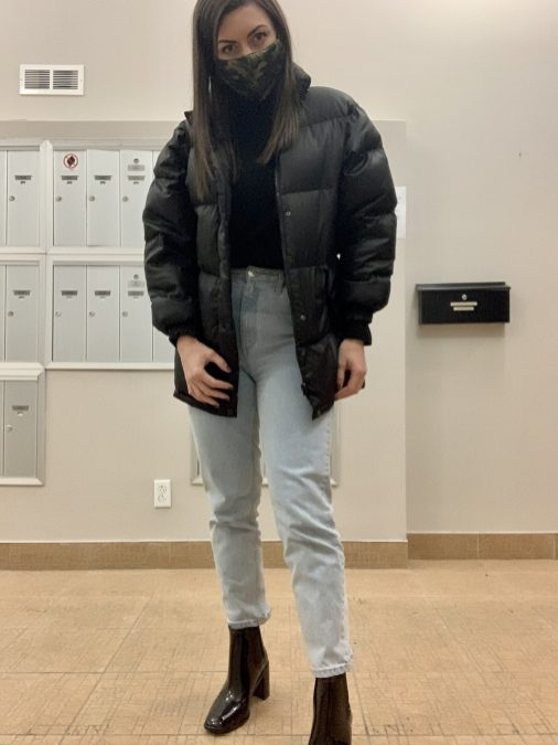 Ce manteau «puffer»