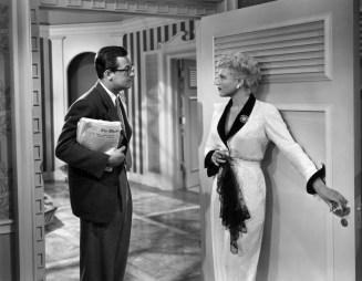 William Holden and Judy Holliday in Born Yesterday (1950)