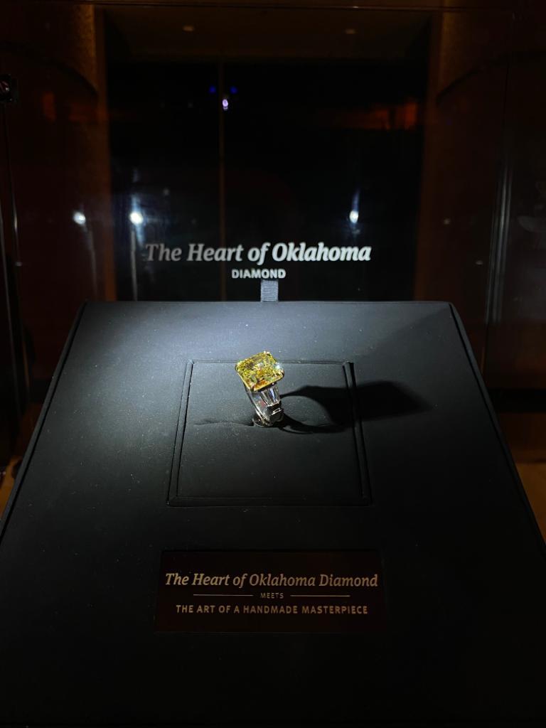 The Heart of Oklahoma Diamond meets The Art of A Handmade Masterpiece