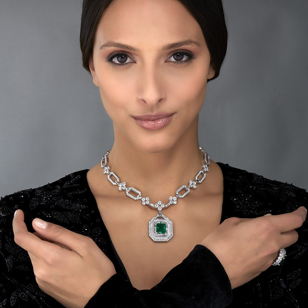"VESCHETTI JEWELS - ""GLAMOUR"" NECKLACE"
