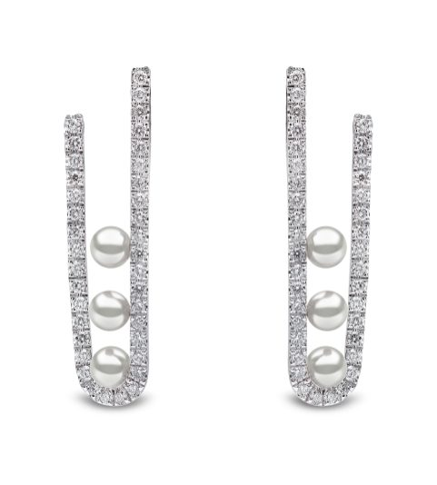 "YOKO LONDON - ""SLEEK"" EARRINGS QYE2181-7X"