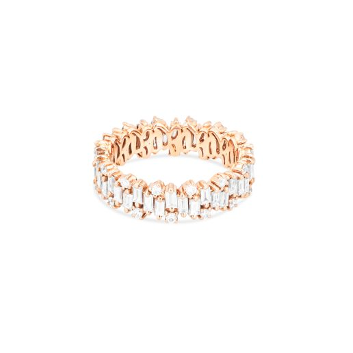 SUZANNE KALAN - SHIMMER COLLECTION ETERNITY BAND 18kt ROSE GOLD