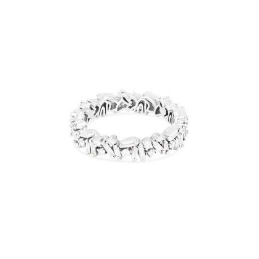 SUZANNE KALAN - ICON ETERNITY BAND 18kt WHITE GOLD