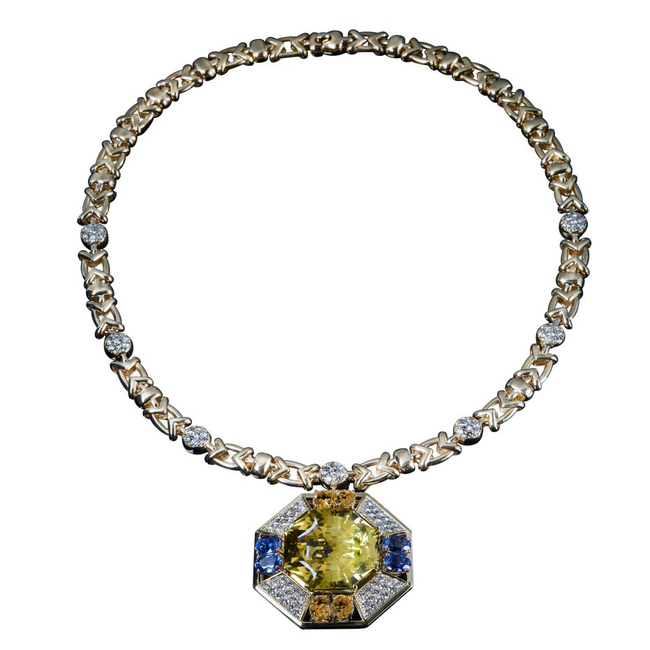 "VESCHETTI JEWELS - ""GAIA"" NECKLACE"
