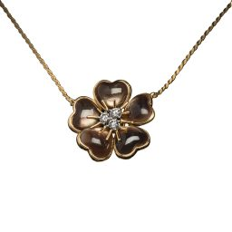 VESCHETTI - PETITES FLEURS NECKLACE IN BLACK MOTHER OF PEARL