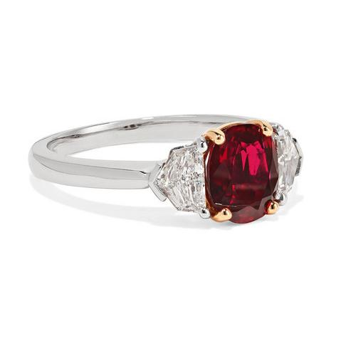 BAYCO - RUBY & DIAMOND RING
