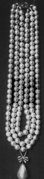 Queen Marie Antoinette's Pearls