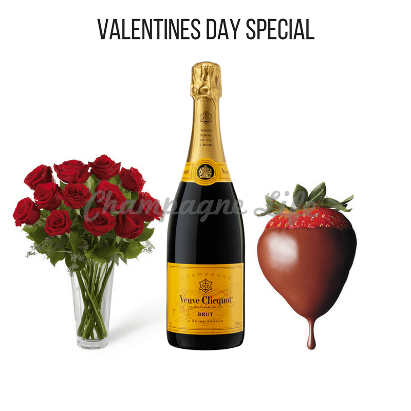 Valentines Day Champagne Gift Set