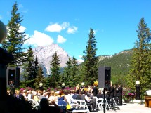 Canmore Banff Lake Louise Wedding Champagne & Paper