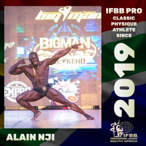 IFBB Pro Classic Physique Alain Nji