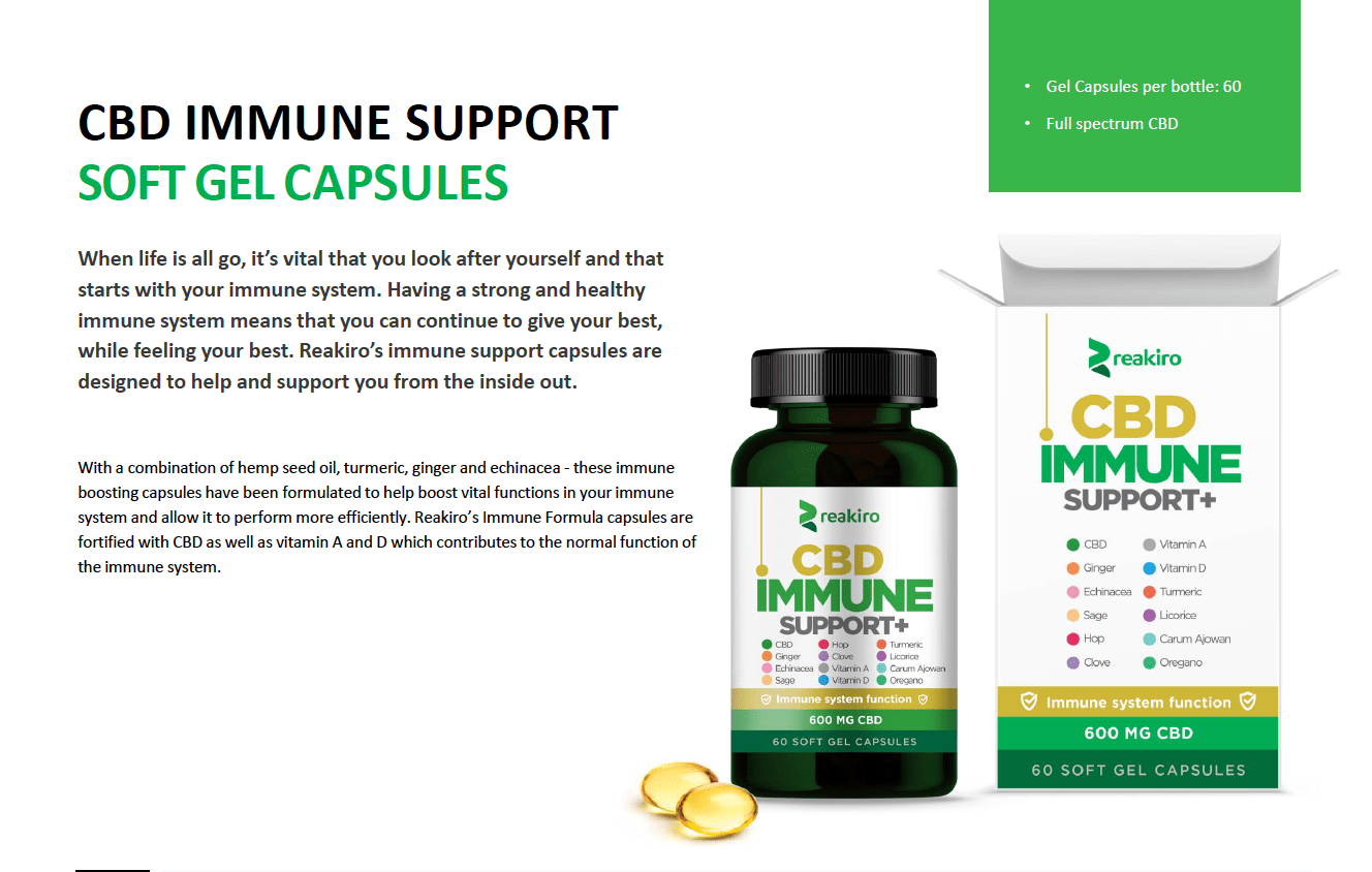 CBD Immune Support 1