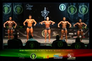 Classic Physique Juniors Line Up