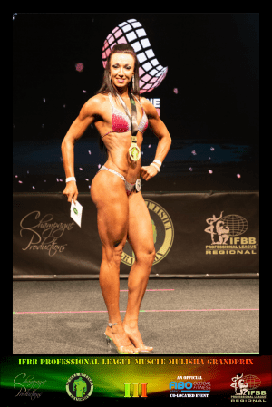 Bikini Master 35+ Winner - Chantal Williams