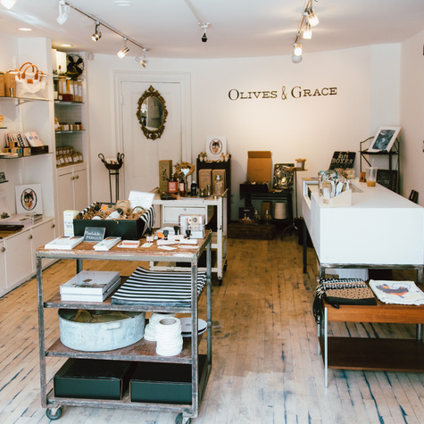 Olives & Grace shop in Boston South End