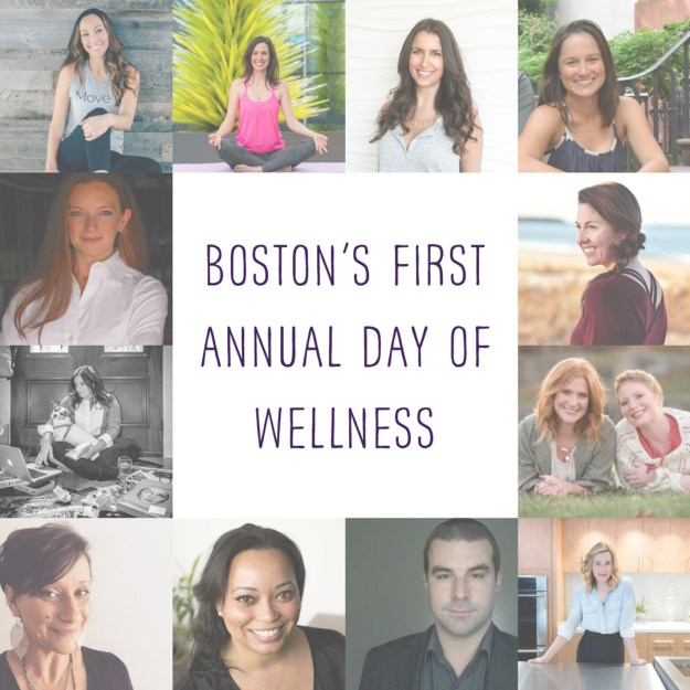Boston Day of WELLness champagne thursday boston blogger