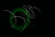 Circles, light, research, visual impressions