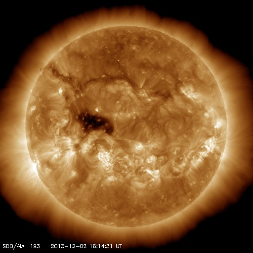 The Sun now Image/Caption: NASA Solar Dynamics Observatory (SDO)
