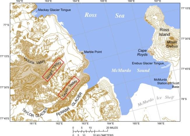 McMurdo Sound Map: Wikipedia