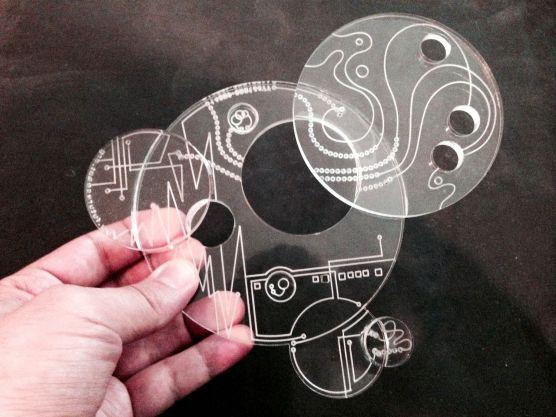 A 'chronofact' object. Image: Eric Molinksy/WNYC