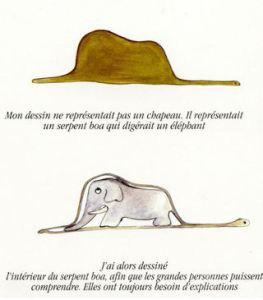 From The Little Prince By: Antoine de Saint-Exupéry