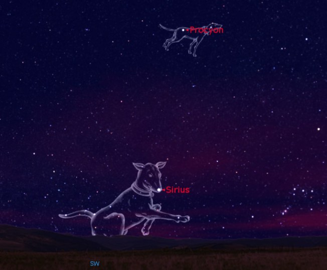 Sirius in Canis Major Source: Space.com