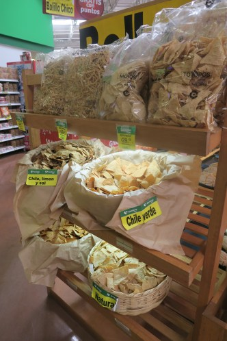 Fresh, handmade tortilla chips in a variety of flavors. Addictive. All photos: PKR