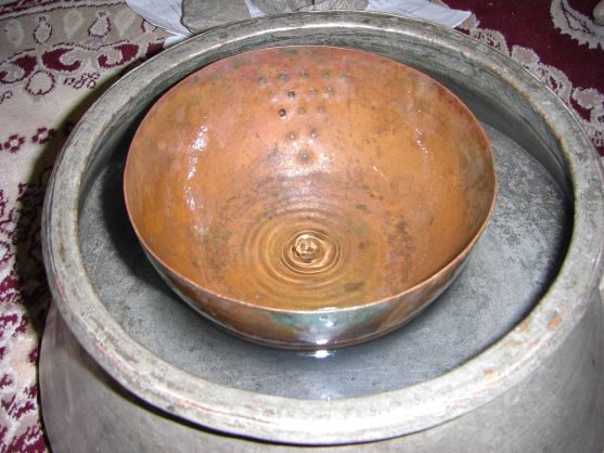 Ancient water clock used in qanat of gonabad 2500 years ago. Source: Maahmaah/Wikipedia
