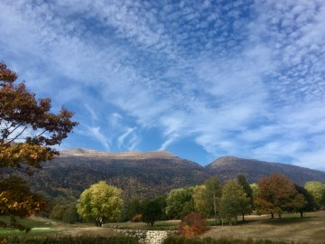 Autumn in the Jura mountains