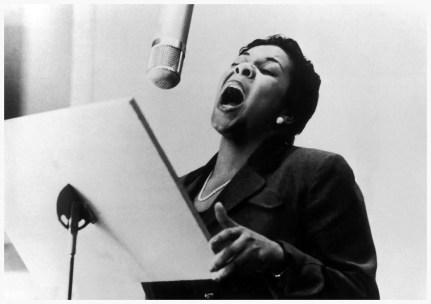 Dinah in the Studio