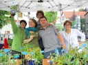 Troc aux plantes (21/06/15, à Cœuilly)